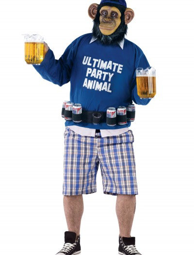 Plus Party Animal Costume