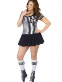 Plus Racy Referee Costume