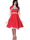 Plus Size 1950s Sweetheart Dress Costume