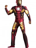 Plus Size Avengers Iron Man Muscle Costume