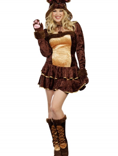 Plus Size Bear Hugs Costume