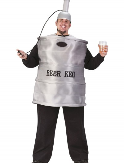 Plus Size Beer Keg Costume