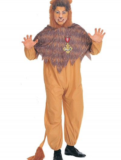 Plus Size Cowardly Lion Costume