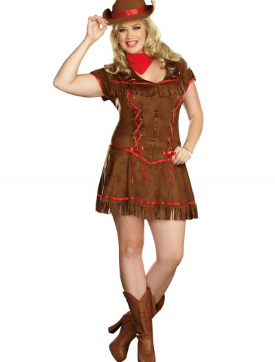 Plus Size Giddy Up Cowgirl Costume