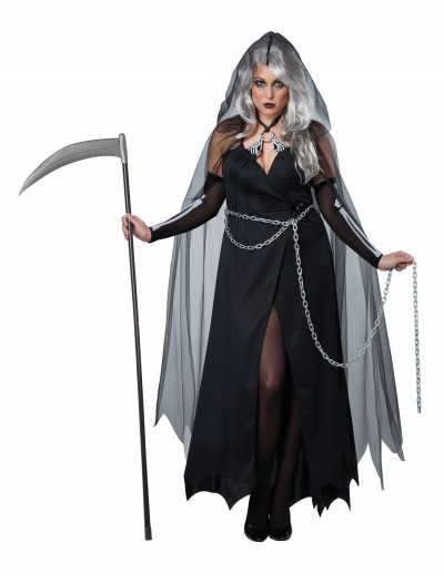 Women's Plus Size Lady Reaper Costume