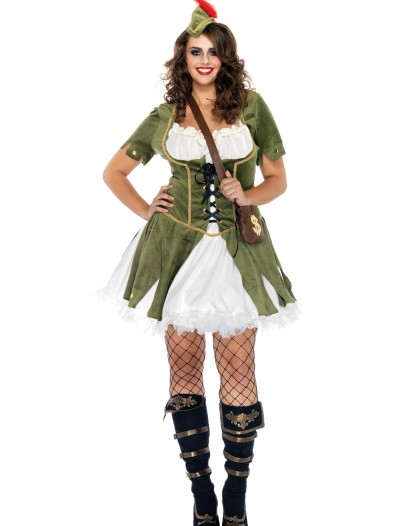 Plus Size Lady Robin Hood Costume