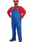 Plus Size Mario Costume