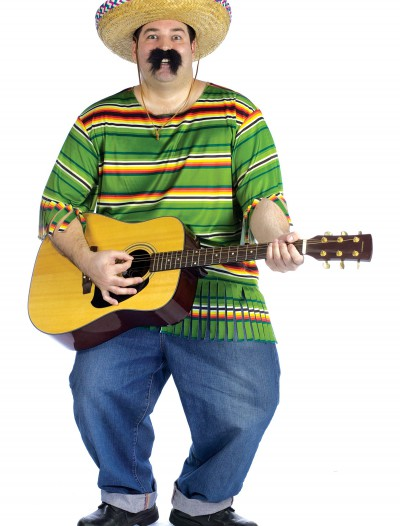 Plus Size Mexican Serape Costume