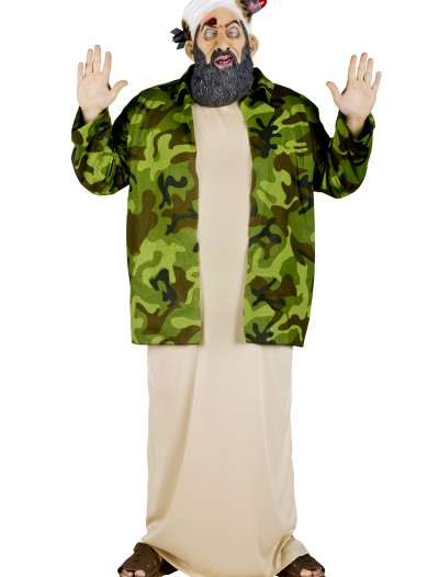 Plus Size Osama Bin Laden Costume