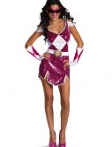 Plus Size Pink Ranger Glam Costume