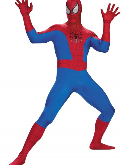 Plus Size Realistic Spiderman Costume