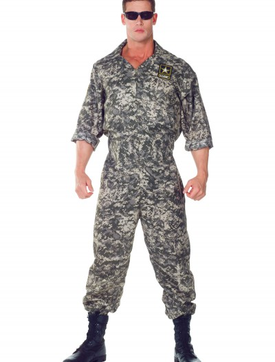 Plus Size U.S. Army Jumpsuit