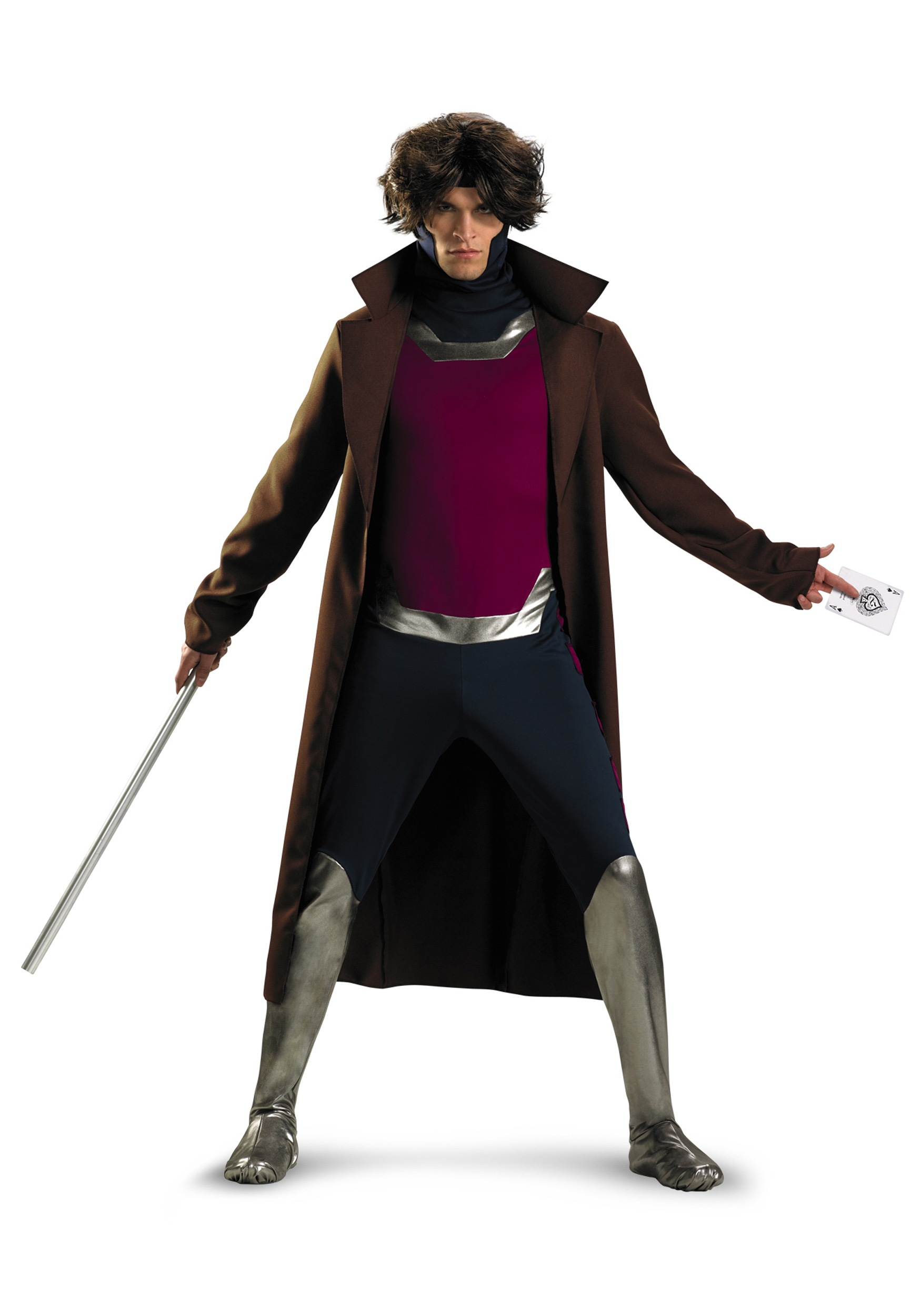 Plus Size X-Men Gambit Costume