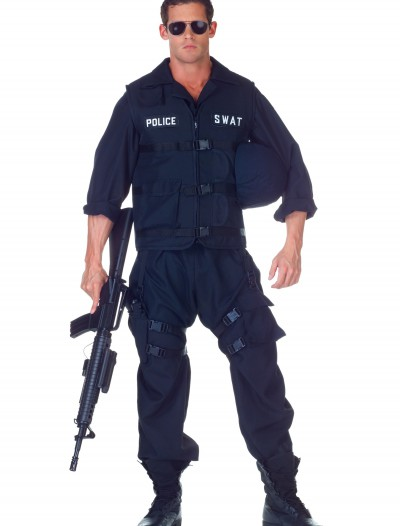 Plus SWAT Jumpsuit Costume