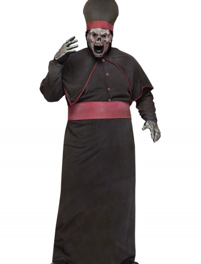 Plus Zombie High Priest Costume