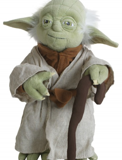 Poseable Plush Yoda Doll