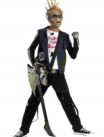 Punk Rocker Zombie Costume