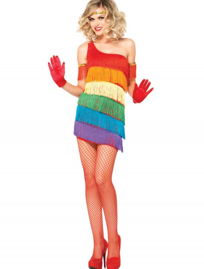 Rainbow Flapper Costume