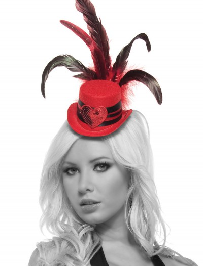 Red Heart Mini Top Hat