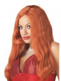 Red Movie Star Wig