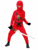 Red Toddler Ninja Costume
