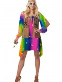 Retro Hippie Chick Costume