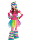 Rockin' Rainbow Monster Child Costume