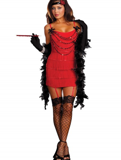 Ruby Red Hot Flapper Costume