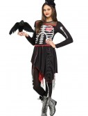 Girls Sassy Skelegirl Costume