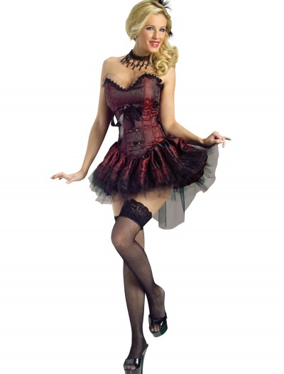 Seductive Saloon Girl Costume