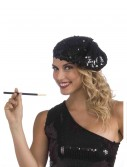 Sequin Flapper Beret