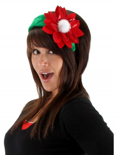 Sequin Poinsettia Headband
