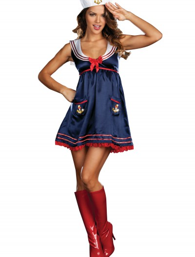 Sexy Blue Sailor Girl Costume