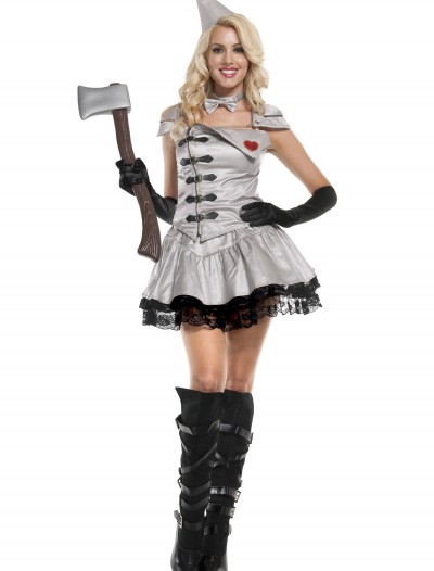 Sexy Exclusive Metal Woman Costume