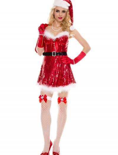 Sexy Miss Sequin Santa Costume
