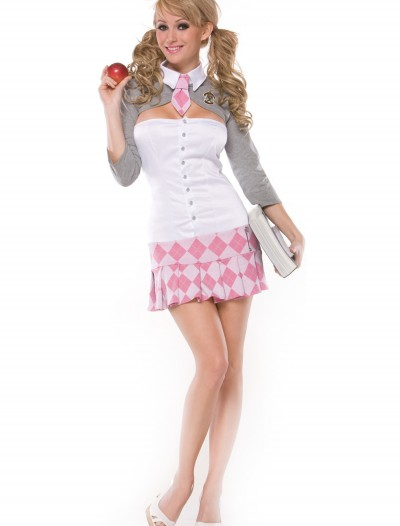 Sexy Pink School Girl Costume