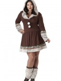 Sexy Plus Size Eskimo Kisses Costume