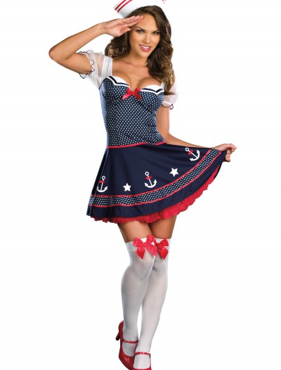 Sexy Polka Dot Sailor Costume