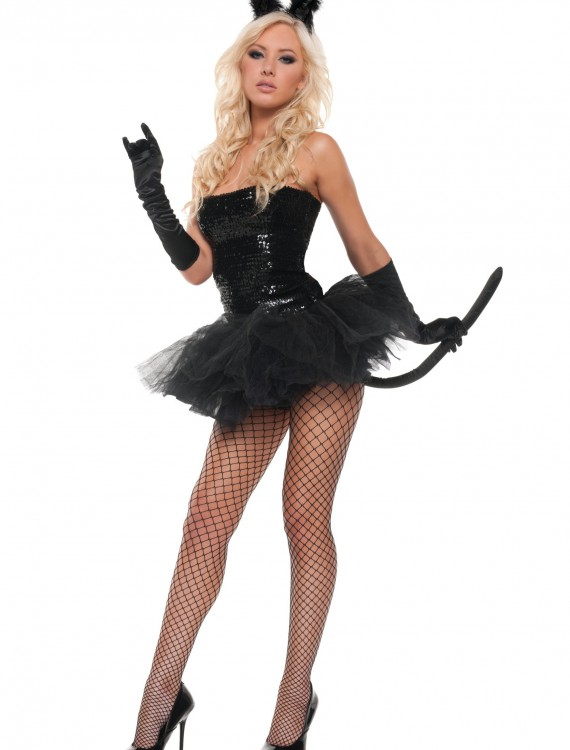 Sexy Sequin Kitty Costume