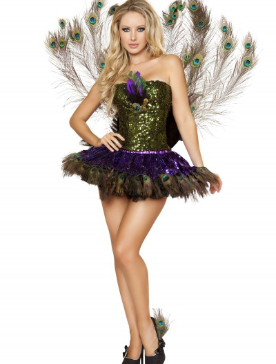 Sexy Tempting Peacock Costume