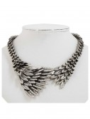 Silver Eagles Wing Necklace