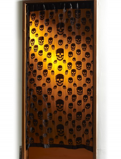 Skull Window Curtain
