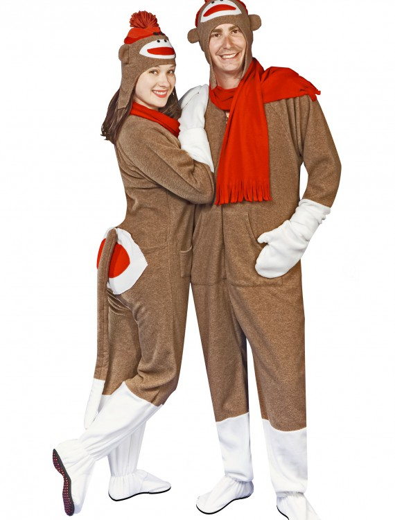Sock Monkey Pajama Costume