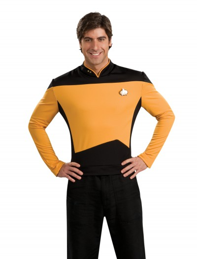 Star Trek: TNG Adult Deluxe Operations Uniform