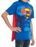 Superman S Shield Cape T-Shirt