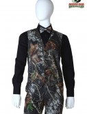 Tall Mossy Oak Full Back Vest