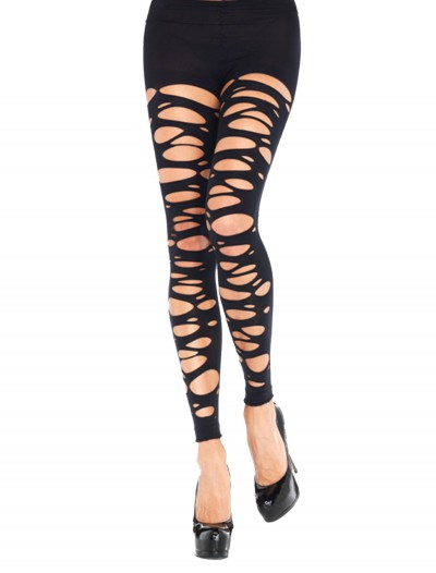 Tattered Footless Tights