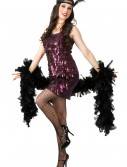 Tear Drop Plum Flapper Costume
