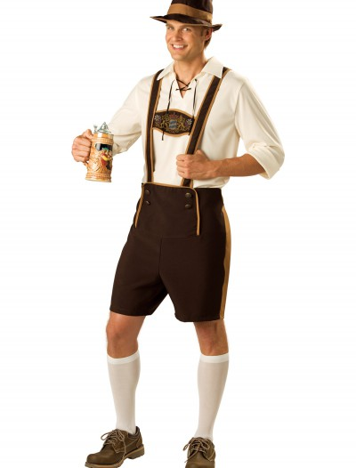 Teen Bavarian Guy Costume