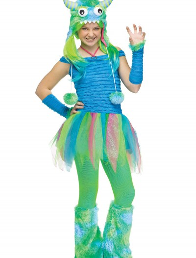 Teen Blue Beastie Monster Costume